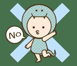 "Happy New Year! Cute animal ""zodiac"" sticker #8896233"