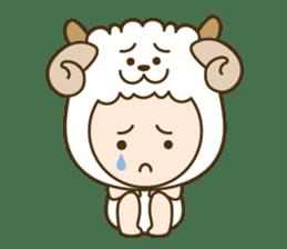 "Happy New Year! Cute animal ""zodiac"" sticker #8896235"