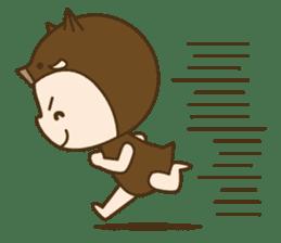 "Happy New Year! Cute animal ""zodiac"" sticker #8896239"