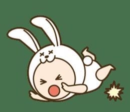 "Happy New Year! Cute animal ""zodiac"" sticker #8896243"