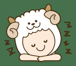 "Happy New Year! Cute animal ""zodiac"" sticker #8896247"