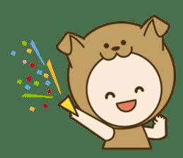 "Happy New Year! Cute animal ""zodiac"" sticker #8896250"