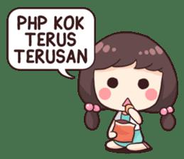 Cewek Aneh sticker #8896751
