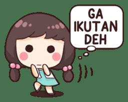 Cewek Aneh sticker #8896760
