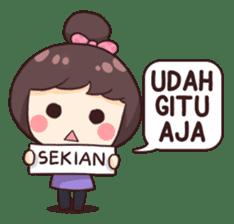 Cewek Aneh sticker #8896767