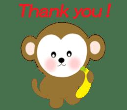 2016 Happy New Year Monkeys [English] sticker #8902503