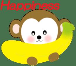 2016 Happy New Year Monkeys [English] sticker #8902511