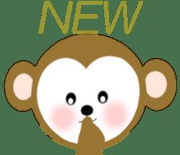 2016 Happy New Year Monkeys [English] sticker #8902513