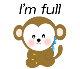 2016 Happy New Year Monkeys [English] sticker #8902517
