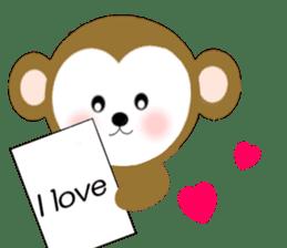 2016 Happy New Year Monkeys [English] sticker #8902518