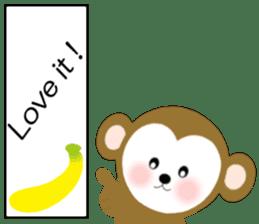 2016 Happy New Year Monkeys [English] sticker #8902531