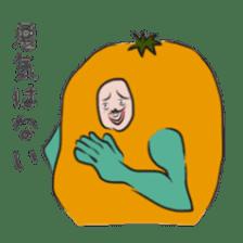 fruitman sticker #8907340