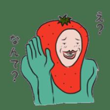 fruitman sticker #8907346