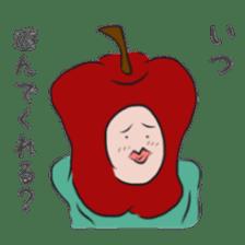 fruitman sticker #8907363