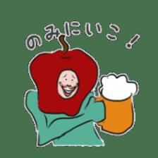 fruitman sticker #8907364