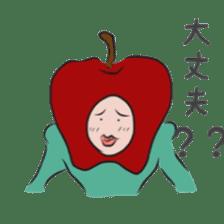 fruitman sticker #8907365