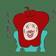 fruitman sticker #8907367