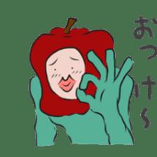 fruitman sticker #8907372