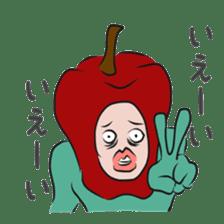 fruitman sticker #8907374