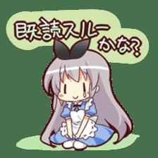 CUTE GIRL Alice third series sticker #8908496