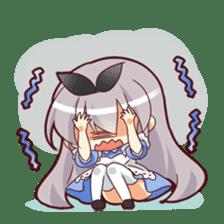 CUTE GIRL Alice third series sticker #8908502