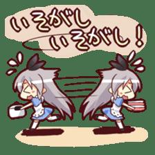 CUTE GIRL Alice third series sticker #8908511