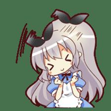 CUTE GIRL Alice third series sticker #8908527