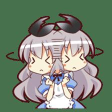 CUTE GIRL Alice third series sticker #8908528