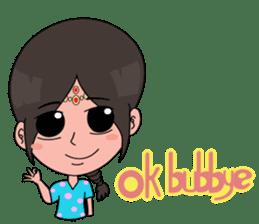 Chiku and Piku toon sticker #8910432