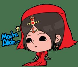 Chiku and Piku toon sticker #8910436