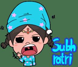 Chiku and Piku toon sticker #8910437