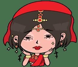 Chiku and Piku toon sticker #8910438