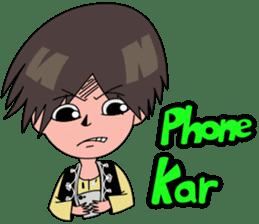 Chiku and Piku toon sticker #8910446
