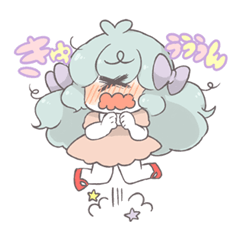 OTAKU  kawaii girl sticker