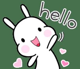 Hub the rabbit sticker #8943184