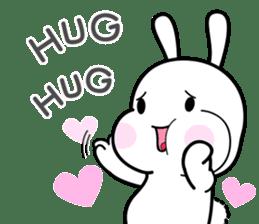 Hub the rabbit sticker #8943196