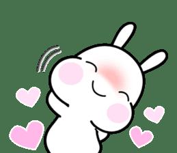 Hub the rabbit sticker #8943212
