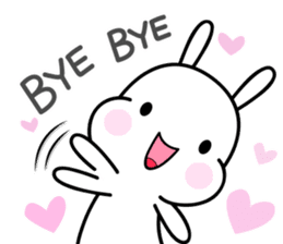 Hub the rabbit sticker #8943223