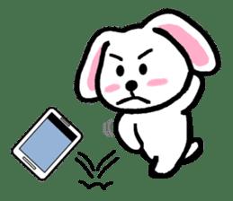 TAREMMY of lop-eared rabbit throw phone sticker #8944107