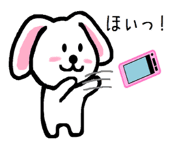 TAREMMY of lop-eared rabbit throw phone sticker #8944108