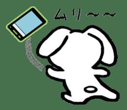 TAREMMY of lop-eared rabbit throw phone sticker #8944114