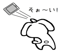 TAREMMY of lop-eared rabbit throw phone sticker #8944115