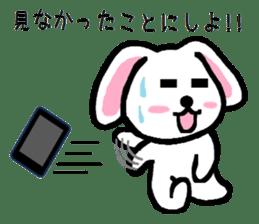 TAREMMY of lop-eared rabbit throw phone sticker #8944125