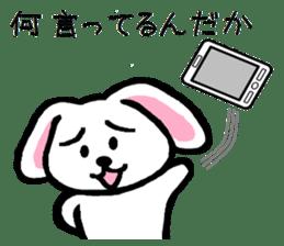 TAREMMY of lop-eared rabbit throw phone sticker #8944128