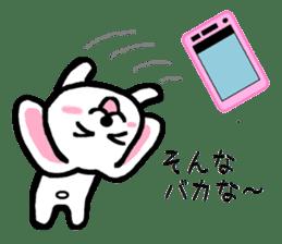 TAREMMY of lop-eared rabbit throw phone sticker #8944129