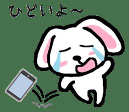 TAREMMY of lop-eared rabbit throw phone sticker #8944131