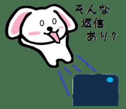 TAREMMY of lop-eared rabbit throw phone sticker #8944139
