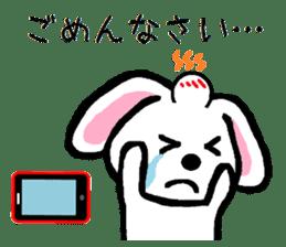 TAREMMY of lop-eared rabbit throw phone sticker #8944143
