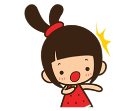 Manka the Happy Little Girl sticker #8946210