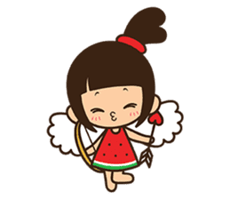 Manka the Happy Little Girl sticker #8946216